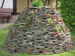Steine Mauer Garten : mein naturgarten der kleingarten als biotop ~ Watch28wear.com Haus und Dekorationen