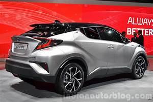 Toyota C Hr 2016 : toyota c hr rear quarter at 2016 geneva motor show ~ Medecine-chirurgie-esthetiques.com Avis de Voitures