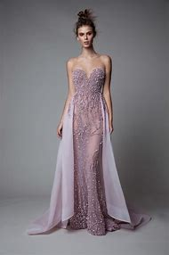 0b32a89ff5 Sexy See Through Berta Prom Dresses 2018 Luxury Crystal Beaded Mermaid Evening  Dress Sweetheart Detachable Train