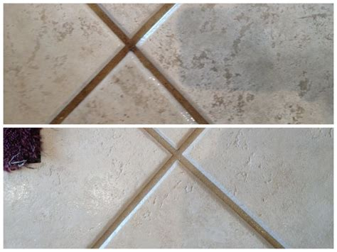 stanley steemer tile cleaning before and after tile before after
