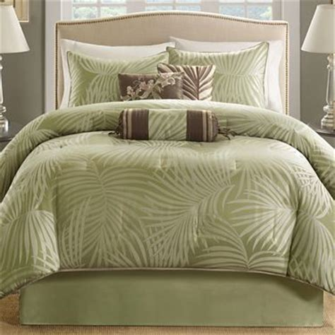 jc penneys bedding bermuda 7 pc comforter set jcpenney home bedding