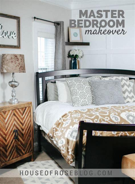 Master Bedroom Makeover by Bright Cheery Master Bedroom