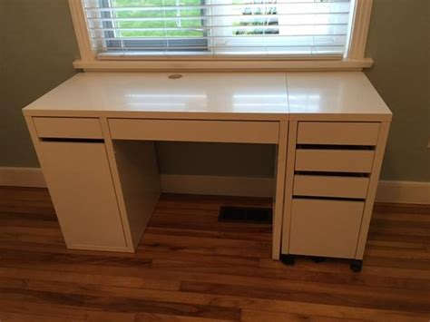 desk 55 inches wide ikea desk filing cabinet and chair saanich victoria