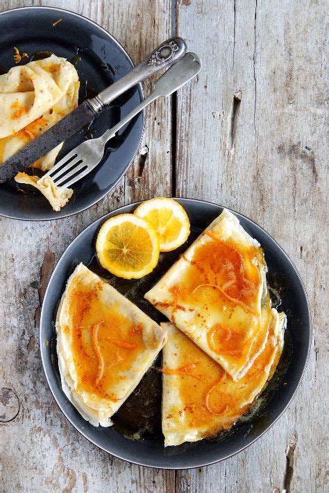 French Crepes Suzette Recipe