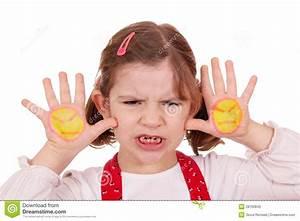 Angry Little Girl Stock Photo - Image: 28760840