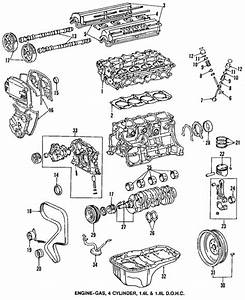 Genuine Oem Engine Parts Parts For 1993 Toyota Corolla