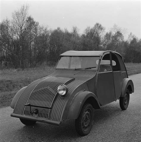 Prototype Testing At Citroën's Test Facilities Was Still