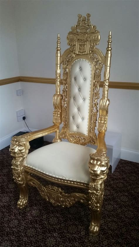 secondhand prop shop thrones  wedding chairs crown