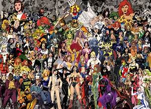Foxcatu002639s Life Superheroines And Supervillainesses Of Dc