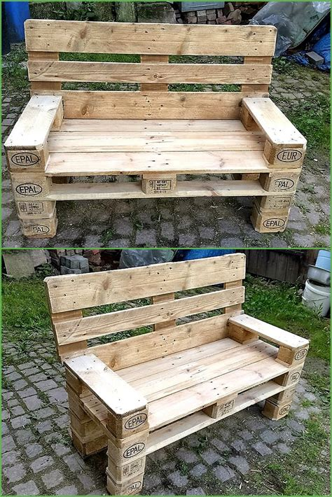 ideas  give wood pallets  life wood pallet furniture