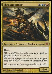 thraximundar in edh by dale lovelace gatheringmagic com