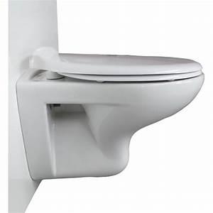 Cuvette Pour Wc Suspendu : cuvette wc allia prima 55cm wici concept ~ Melissatoandfro.com Idées de Décoration