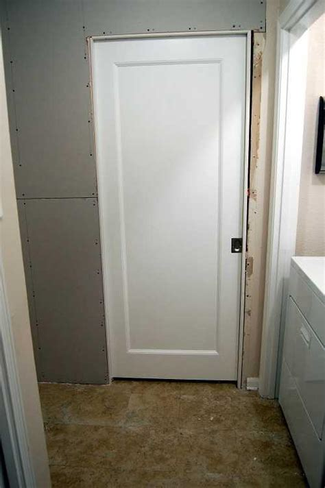 how to make a door in drywall framing a pocket door keeping drywall in place the