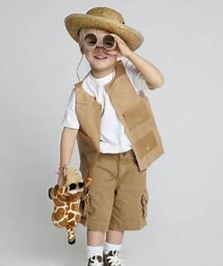 Kostüm Kleinkind Selber Machen : safari outfit selbstgemachte kost me und verkleidungen f r kinder i fasching halloween ~ Frokenaadalensverden.com Haus und Dekorationen