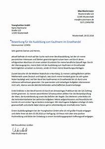 Bewerbung Kaufmann Im Einzelhandel : bewerbung als kaufmann kauffrau im einzelhandel bewerbungsmuster ~ Orissabook.com Haus und Dekorationen