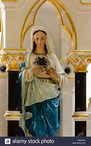 Statue Of The Blessed Virgin Mary Stock Photos & Statue Of ...