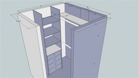 small walk in closet layout home