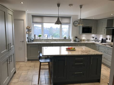 shaker partridge grey slate concept kitchens