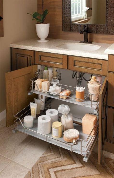 diy clever storage ideas  bathroom organization