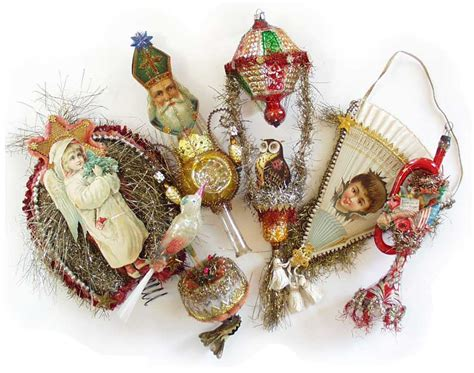 dresden star ornaments victorian ornaments one of a kind