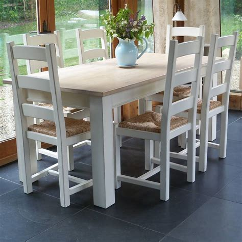 classic shaker table and chairs painted by rectory