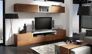 Meuble Salon Moderne : meuble tv moderne notte c mobilier de salon contemporain ~ Premium-room.com Idées de Décoration