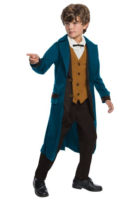 boys costumes deluxe newt scamander boys costume