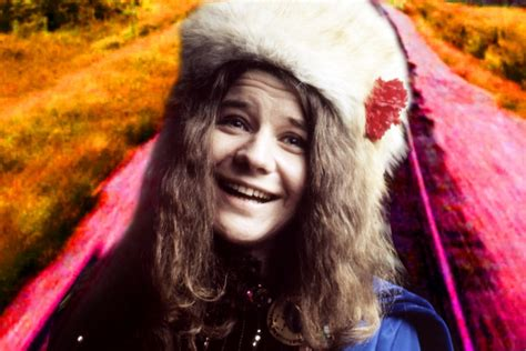 janis  girl blue paints  moving picture
