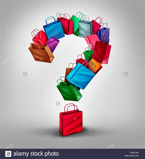 Retail Questions by Shopping Questions Concept As A Of Retail Store Bags