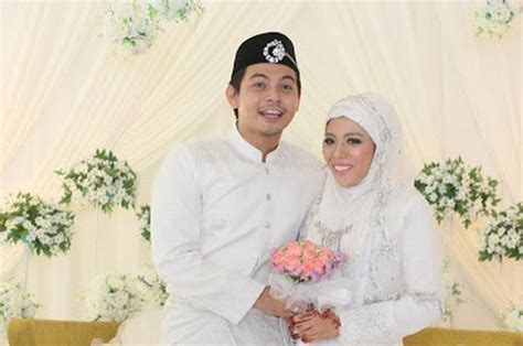 20 gambar majlis pernikahan izzue islam dengan awin nurin