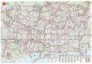 Barcelona Bus Map