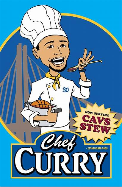 Curry Steph Chef Warriors Animated Golden State