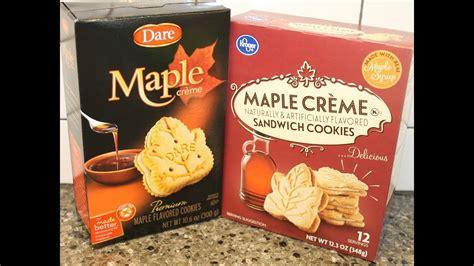 Kroger Bloomfield Maple by Vs Kroger Maple Cr 232 Me Cookies Blind Taste Test