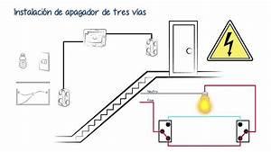 Apagador De Escalera Diagrama