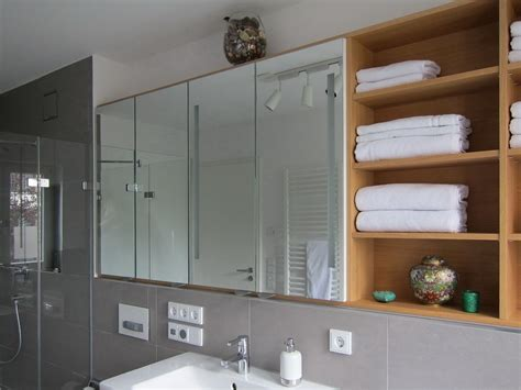 Spiegelschrank Badezimmer Ideen by Spiegelschrank Im Duschbad Bad Badezimmer