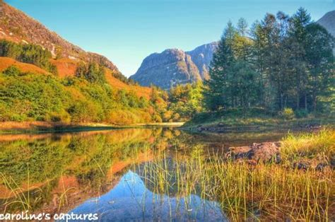 Cottage Scozia by Loch Torren Autumn Glencoe Scotland Picture Of Glencoe