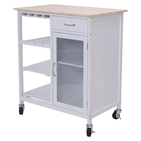 rolling kitchen island cart style kitchen rolling cart faux marble top island