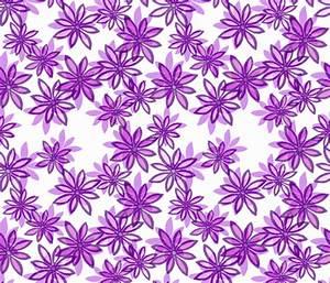 Random Flower Pattern in layers - purple shades wallpaper ...