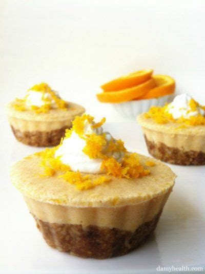 Easy to make and very. Orange Creamsicle Tarts (No Bake) Recipe   Healthy easter dessert, Sugar free desserts, Raw desserts