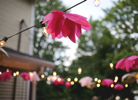diy string lights outdoor ideas 18 inspiring