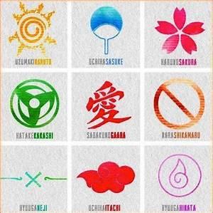 Naruto symbols | Classy Ink | Pinterest
