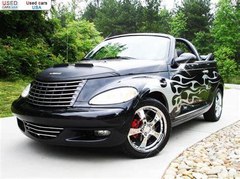 sale  passenger car chrysler pt cruiser custom