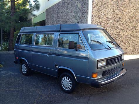 volkswagen vanagon 1987 volkswagen vanagon camper 180919