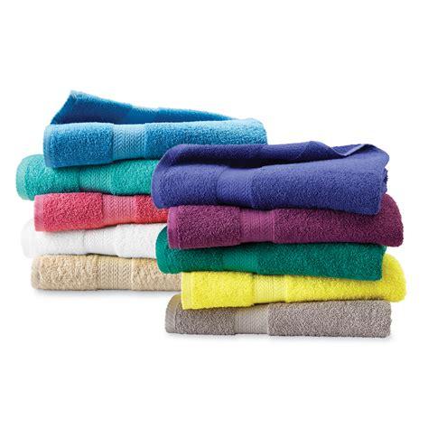 Kmart Bath Towel Sets by Essential Home Sutton Cotton Bath Towels Towels Or
