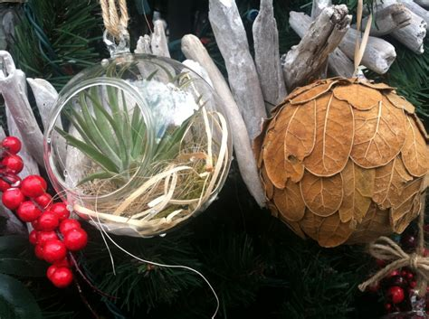 a gardeners christmas organic inspired decorations for