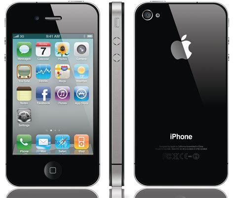 iphone 4s black iphone 4s smartphone black mobile clean esn