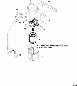 Fuel Filter For Mercruiser 5 0l Efi Alpha  Bravo 5 7l Efi