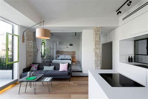 Custom, Space Saving Partitions Transform Tiny Apartment