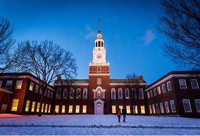 Hanover Dartmouth Hampshire College Nh Winter Library