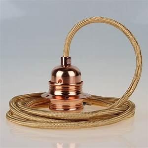 E27 Fassung Metall : textilkabel gold mit e27 fassung metall kupfer kaufen 26 95 ~ Orissabook.com Haus und Dekorationen